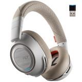 Casca Bluetooth Plantronics Voyager 8200 UC,White