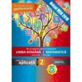 Ne pregatim de evaluare clasa a II-a. Limba romana. Matematica - Simona Brie, Adina Micu