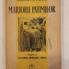 GIOVANNI PAPINI - MARTORII PATIMILOR - sapte legende evanghelice, 1941