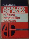 ANALIZA DE FAZA IN FIZICA INTERACTIILOR NUCLEARE-FLORIAN NICHITIU