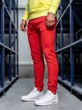 Pantaloni de trening bărbați roșu Bolf CK01