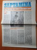 Saptamana 8 decembrie 1989-art. despre moartea lui ion popescu gopo