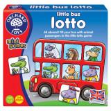 Joc de societate lotto Micul autobuz Orchard Toys, 15 x 14 x 2.5 cm, 2-4 jucatori, 3 ani+