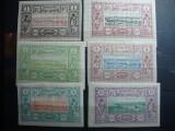 SOMALIA FRANCEZA / DJIBOUTI 5V. 1894 SI 1903 SERIE MH, Nestampilat