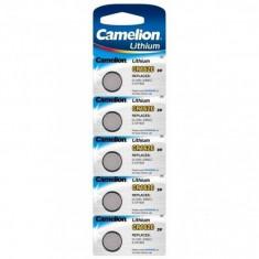 Baterie litiu Camelion CR1620 3V 5 Baterii /Set