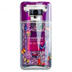 Cumpara ieftin Husa Silicon Fashion Samsung Galaxy S8 Plus Perfume Liquid