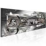 Tablou canvas - Sursa de argint - 135x45 cm, Artgeist
