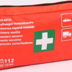 Trusa medicala auto de prim ajutor omologata EU (DIN norm 13164) Kft Auto