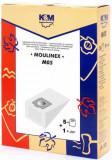Sac aspirator Moulinex Compact, hartie, 5X saci + 1 filtru, KM, K&m