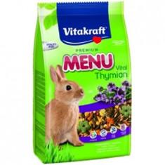 Meniu iepuri Vital cimbru, 1kg, Vitakraft