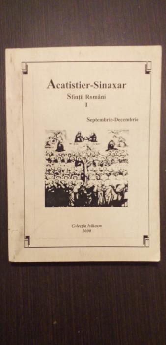 ACATISTIER-SINAXAR SFINTI ROMANI - I - SEPTEMBRIE-DECEMBRIE - GHELASIE GHEORGHE