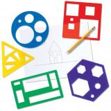 Set de forme geometrice de la Learning Resources