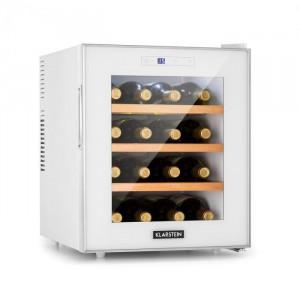 Klarstein Reserva 16 Blanco, frigider de vin, 16 fl/48 l, afișaj Touch LED, alb