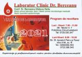 Romania, Laborator Clinic Dr. Berceanu, calendar de buzunar, 2021
