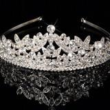 Diadema / coronita / tiara cu cristale tip Swarovski