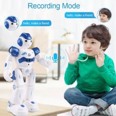 Jucarie Robot inteligent, cu telecomanda, alb, Gonga
