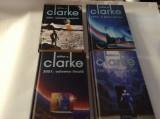 ARTHUR C CLARKE   ODISEEA SPATIALA  4 VOLUME-SERIE COMPLETA--EDITIE DE LUXRF16/0
