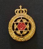 Medalie masonerie - placheta tema masonica - emblema