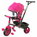 Tricicleta Baby Mix Tour Trike cu sezut reversibil Pink