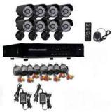 Kit CCTV supraveghere video 8 camere de exterior IP67, HDMI, infrarosu, urmarire
