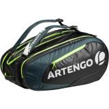 Geantă Tenis 530 S Negru-Kaki, Artengo