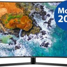 Televizor LED Samsung UE55NU7502, 139 cm (55inch), Ultra HD 4K, Smart TV, Ecran curbat, WiFi, CI+