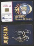Romania 2001 Telephone card Aquarius Sign Rom 88a CT.055