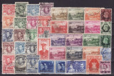 4599 - lot timbre Colonii engleze