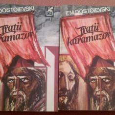 Fratiii Karamazov. Roman in patru parti si epilog 2 Volume - F. M. Dostoievski