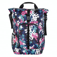 Rucsac laptop Hama Roll-Top 15.6 inch Roz