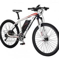 Bicicleta electrica cu cadru aluminiu ZT-82 ALPAN (700C) ALB