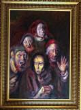 Spaime - semnat Baba, Portrete, Ulei, Altul