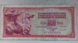 BANCNOTA 100 DINARI 1986-IUGOSLAVIA
