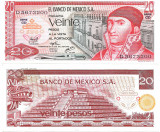 !!! MEXIC - 20 PESOS 1976 - P 64 c4 - UNC  / SERIA CD / CEA DIN SCAN