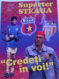 "Revista fotbal - ""Suporter STEAUA"" (Nr.5/2005)-poster STEAUA Bucuresti"