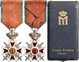 Ordinul - Coroana Romaniei  Model : III - 1938 - militar pe timp de razboi  V