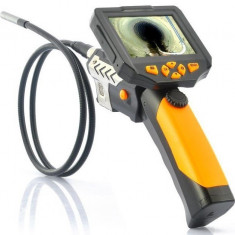 Camera Endoscop Inspectie Auto iUni SpyCam EED08D, cu display de 3,5 inch si lungimea de lucru de 1m