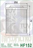 Filtru Ulei HF152 Hiflofiltro Aprilia Bombardier Can-An CFMoto Cod Produs: MX_NEW HF152