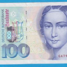 (1) BANCNOTA GERMANIA - 100 MARK 1996 (2 IANUARIE 1996), STARE BUNA