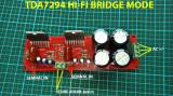 Modul Amplificare Audio TDA7294 BRIDGE/PUNTE Mono sau Stereo, Hitachi