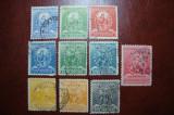PERU 1896, Stampilat