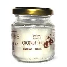 Ulei de Cocos Virgin Presat la Rece Bio Dragon Superfoods 100ml Cod: 3800225477543