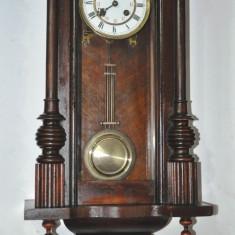 Ceas de perete cu pendula Thomas Haller 1875