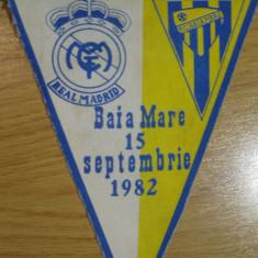 FC Baia Mare-Real Madrid (15 septembrie 1982) - fanion