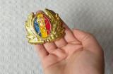 Emblema coifura ofiter armata romana, cuc cascheta ofiter si subofiter