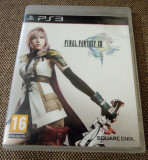 Final fantasy XIII, PS3, original, alte sute de titluri, Role playing, 18+, Single player, Square Enix