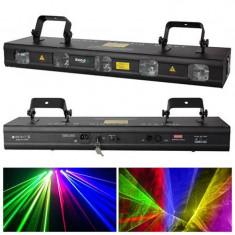 Laser Ibiza 5 capete, 8 canale DMX, 128 modele