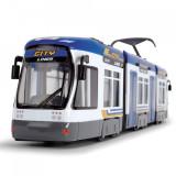 Cumpara ieftin Tramvai Dickie Toys City Liner albastru