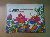 ALBUM DECORATIV FLORAL - Elena Stanescu-Batrinescu - 1981, 100 p. cu pl. color