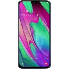 Telefon mobil Samsung Galaxy A40, Dual SIM, 64GB, 4G, White, Smartphone, Micro SD